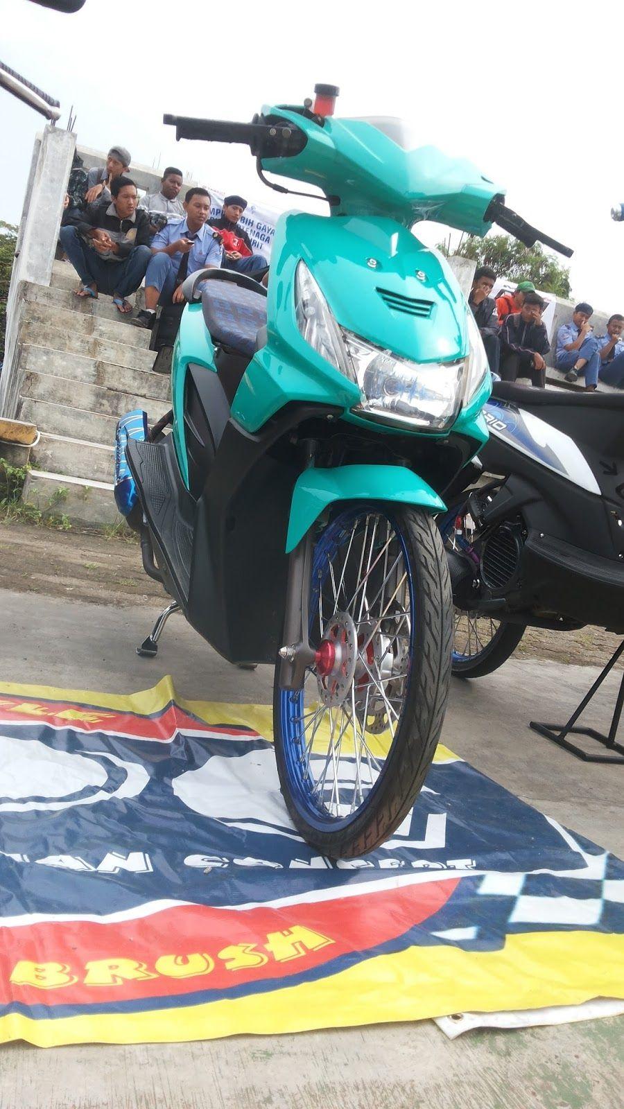 Modifikasi Motor Beat Karbu Thailook Blog Gambar Modifikasi Motor Motor Scooter Custom Vehicles
