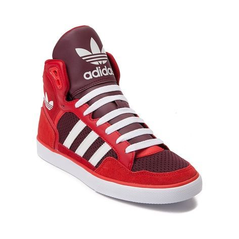 Nice Adidas Shoes Womens adidas Extaball Athletic Shoe, Red White |  Journeys Shoes Check more