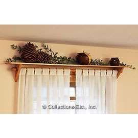Wooden Curtain Rods Curtain Rod Shelf Curtain Rods