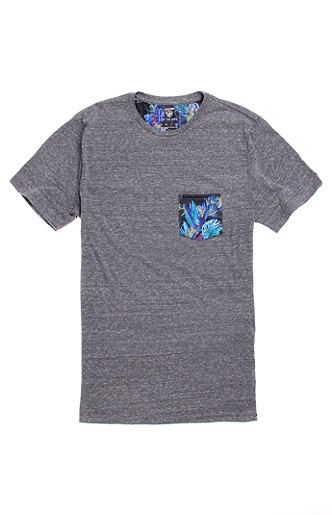 On The Byas Grant Pocket Crew Tee at PacSun.com