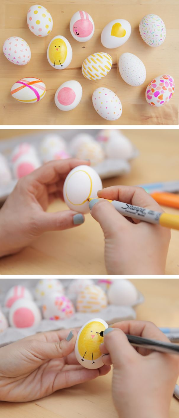 50 Creative Easter Egg Decoration Ideas Sharpie Eggs Easter And