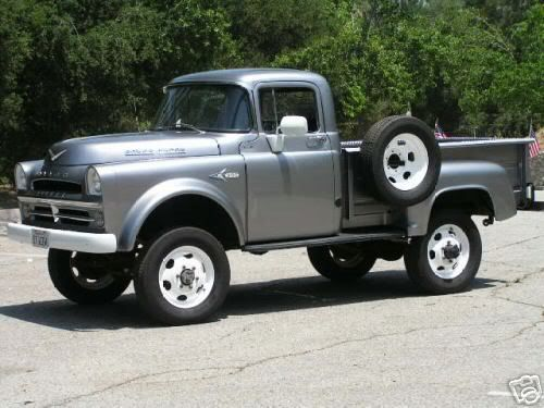 1957 Dodge Power Wagon: