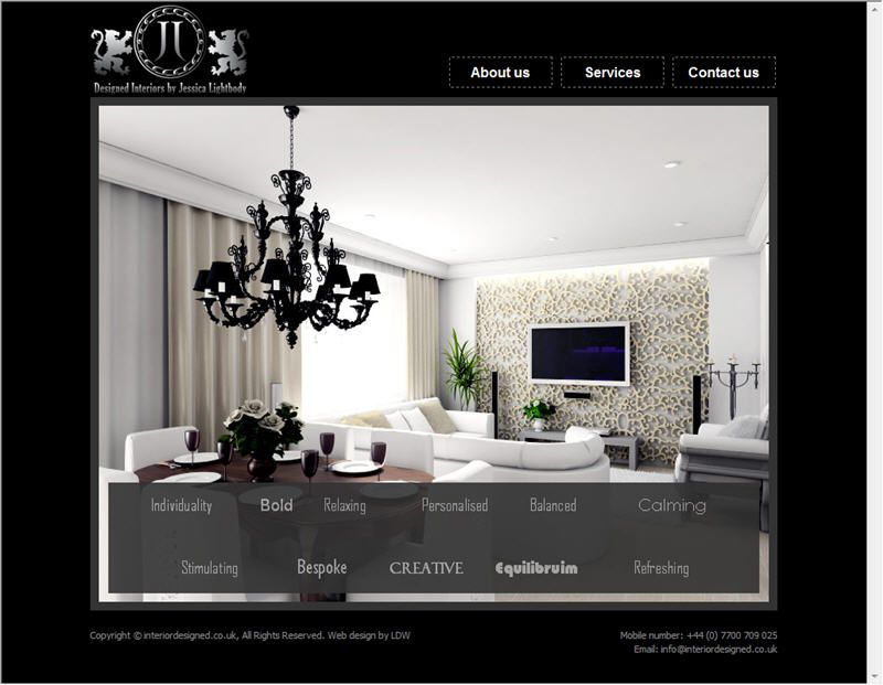 Interior Design Website Templates Interior Design Company