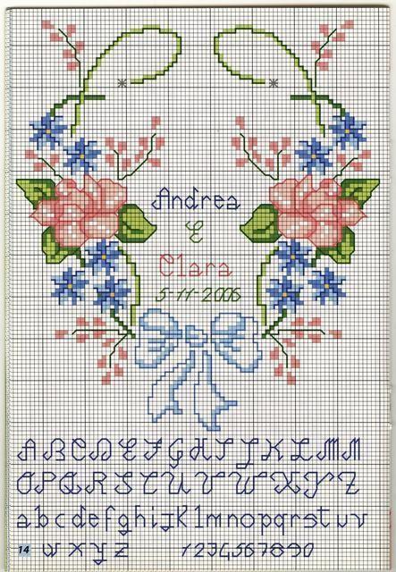 coussin de mariage avec coeur et fleurs (2)