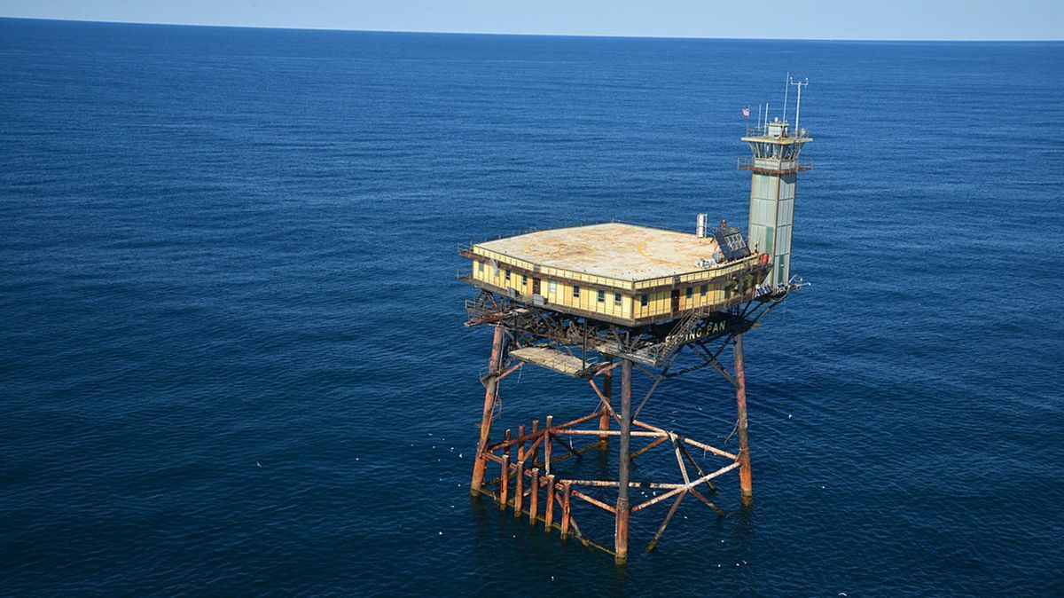 This abandoned Coast Guard Stations is America