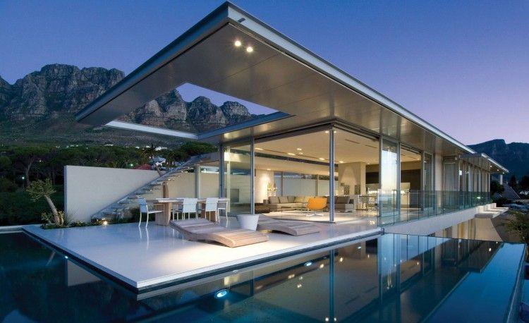 Une maison de vacances de rêve en Afrique du Sud - Moderne House ...