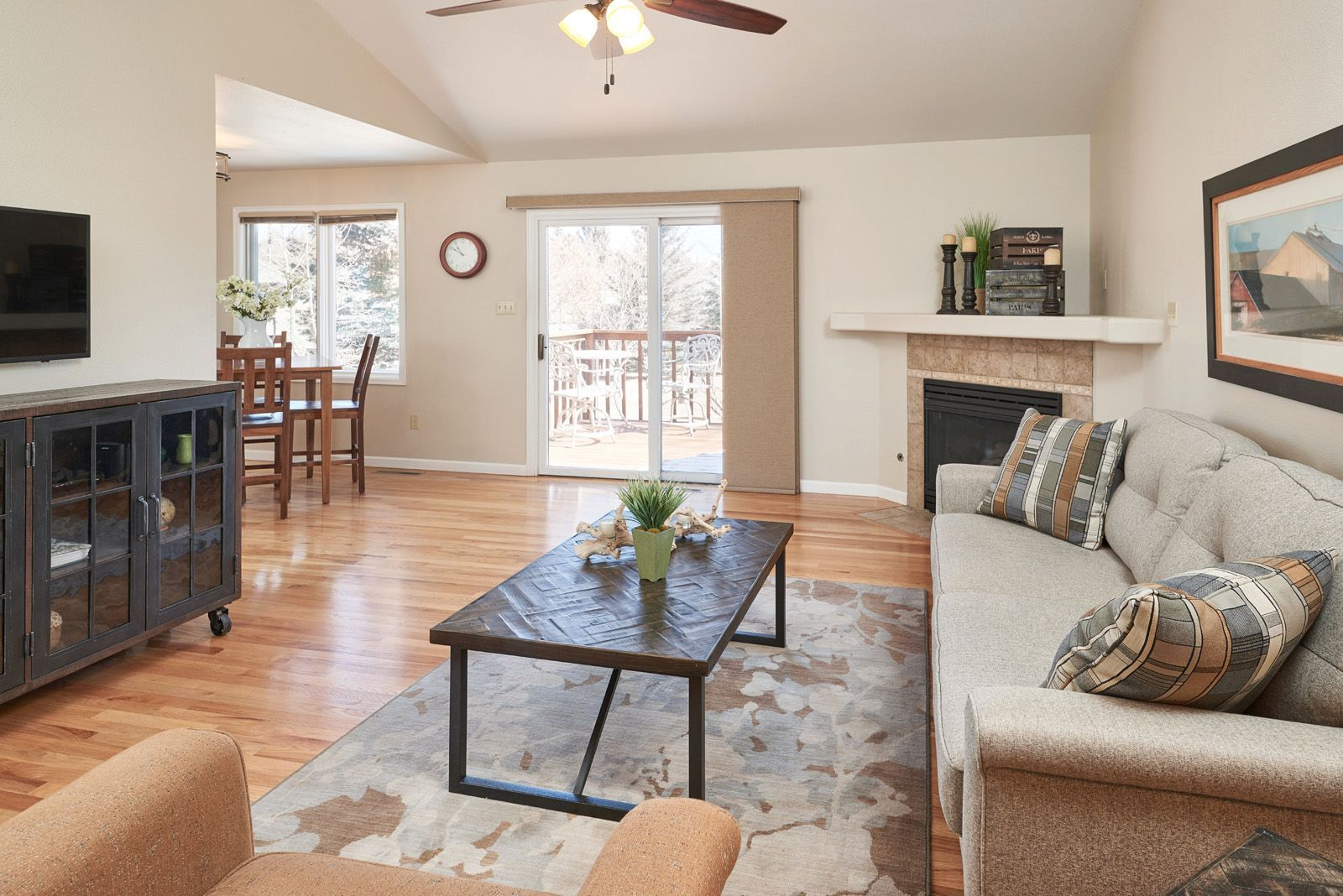 We See You Deck Furniture It Won T Be Long 6403 Prairie Hills Drive Cheyenne Wyoming Bit Ly 6403prairiehi Livingroom Layout Living Spaces Deck Furniture