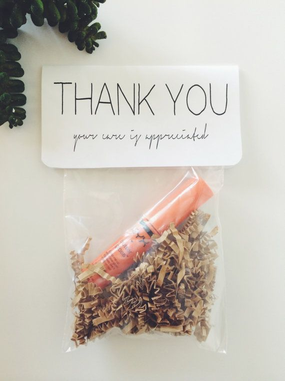 Thank You Gift Nurse Doctor Delivery Room Obgyn Office Shower