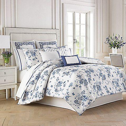 Wedgwood Reg China Blue Floral Duvet Cover Set Blue Comforter Sets Comforter Sets Blue Comforter
