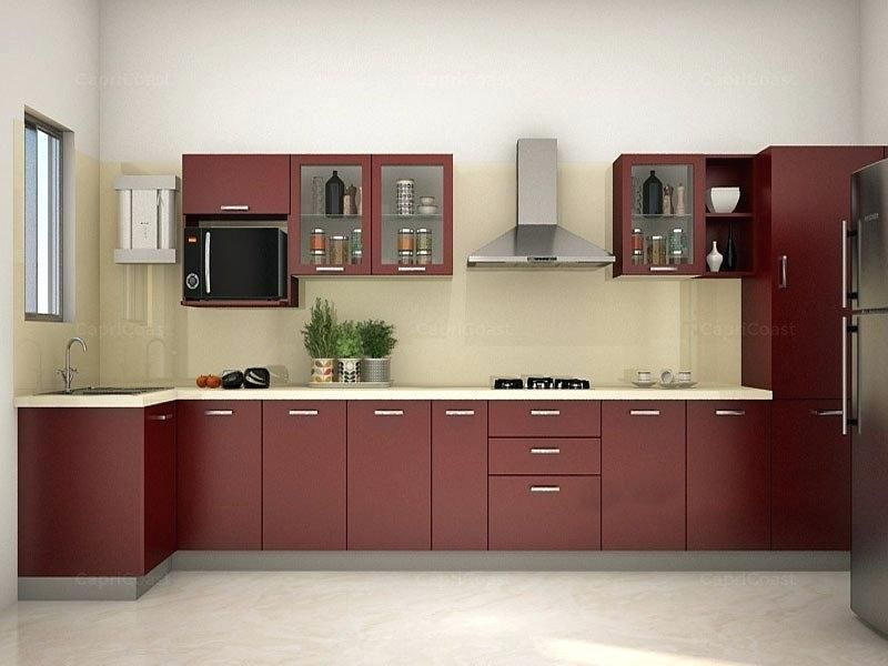 Modular Kitchen Designs India Modular Kitchen Design With U Shaped
