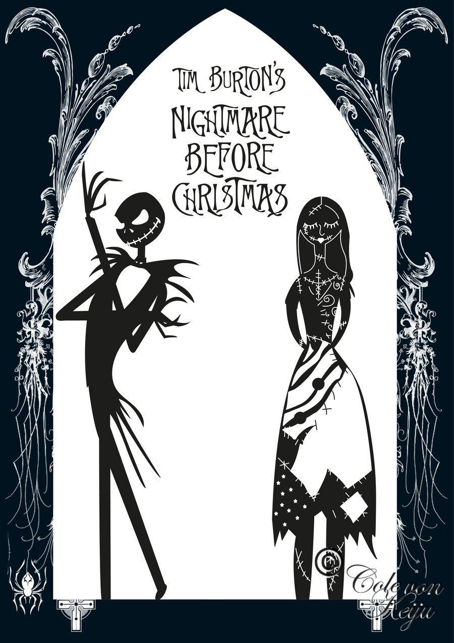 The nightmare before christmas printable coloring pages - The Nightmare Before Christmas Coloring Pages Coloring Pages