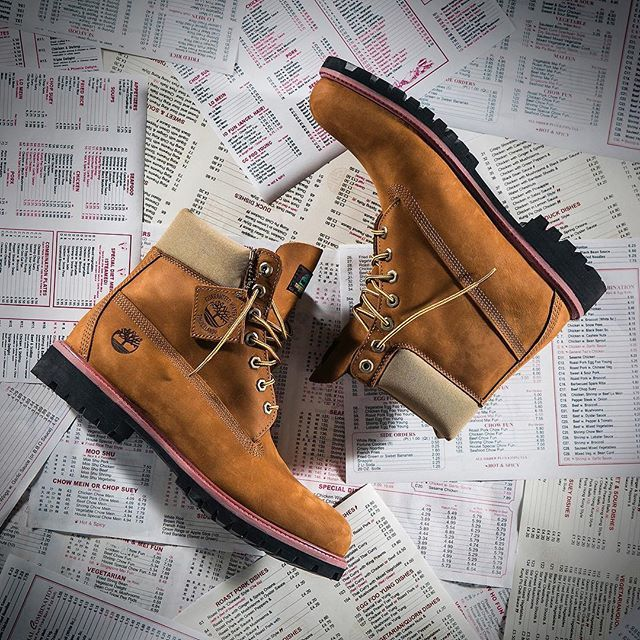 """6ee662c0ca52 Release Alert  This Sat 11.19 the exclusive Timberland   Jimmy Jazz Sesame  Chicken 6"""" Boot drops in stores and online."""