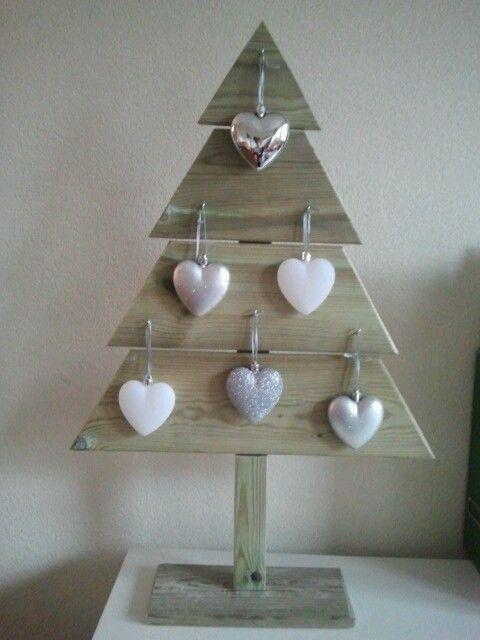 Kerstboom Van Hout Kerstdecoratie Kerstboom Kerst