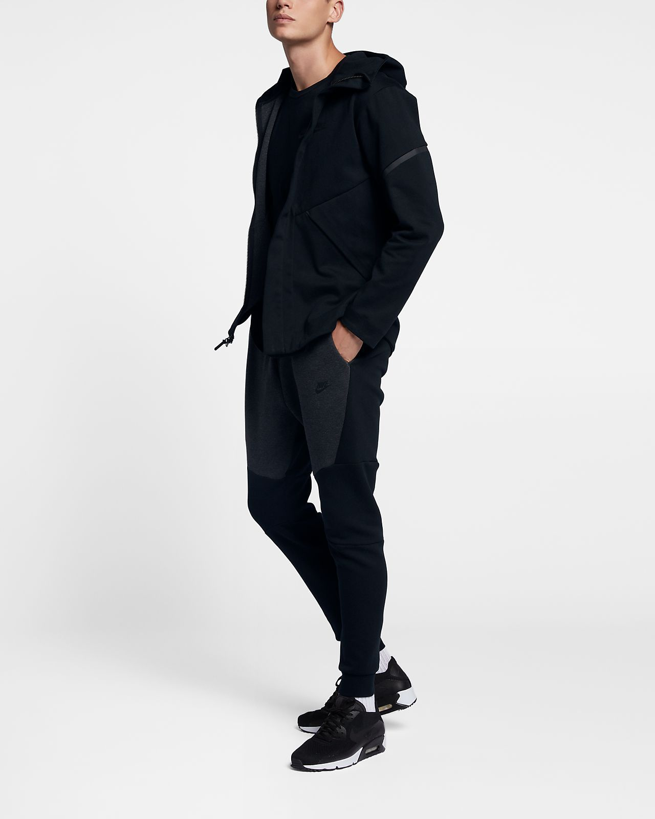 7a32882f7432 Nike Sportswear Tech Fleece Repel Windrunner Men s Jacket