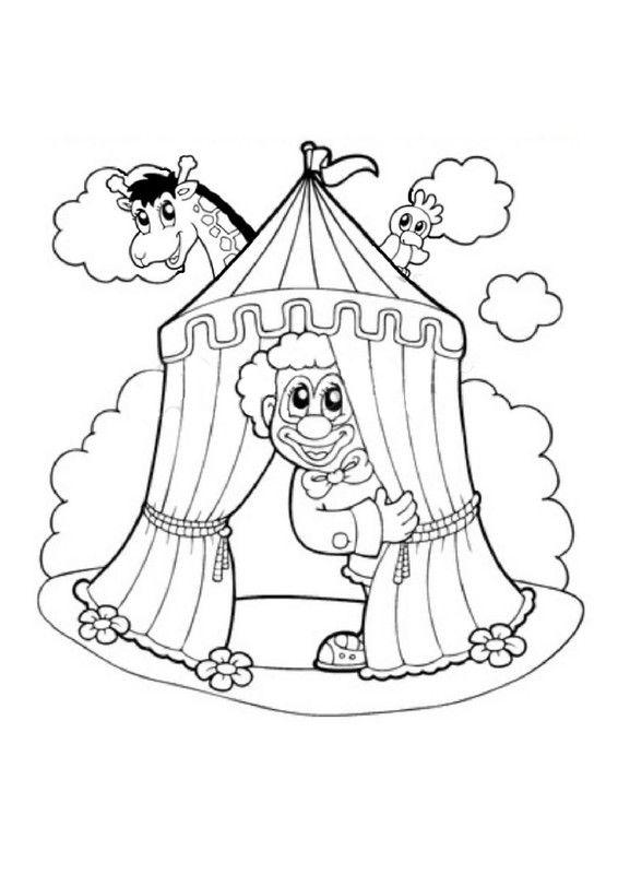 Le chapiteau du cirque