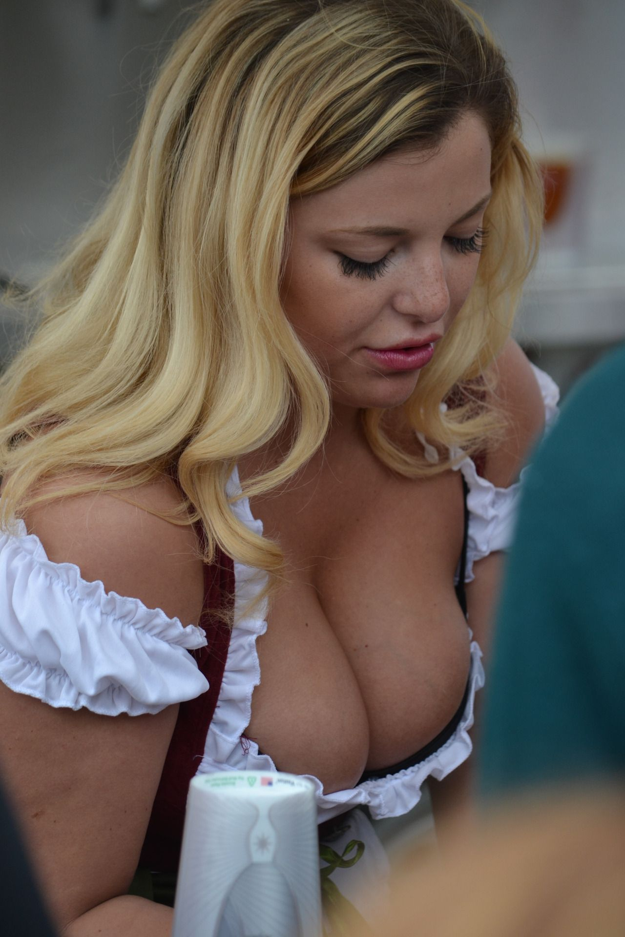 Blonde fantasy mature