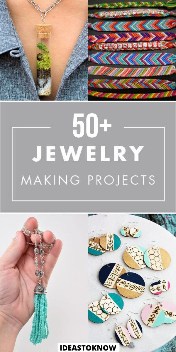 Photo of 50+ Jewelry Making Projects   Amazing DIY Projects