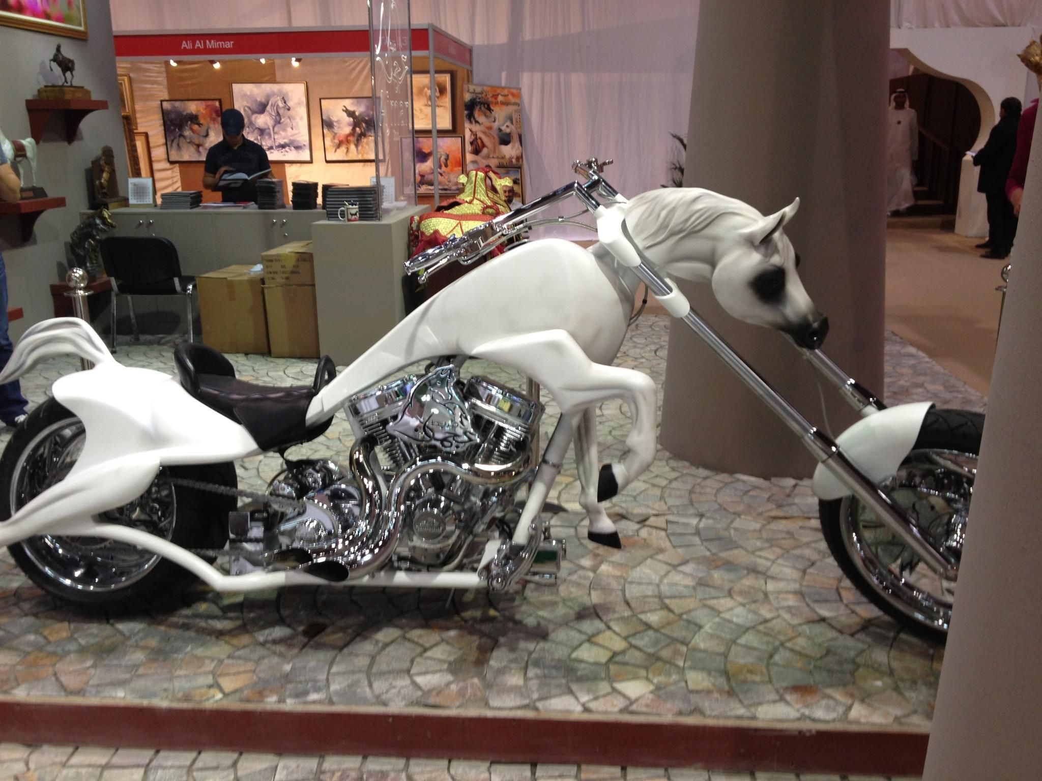 Scott Bailey' Arabian Horse Bike Style Motorcycle Cars Motorcycles Vehicles