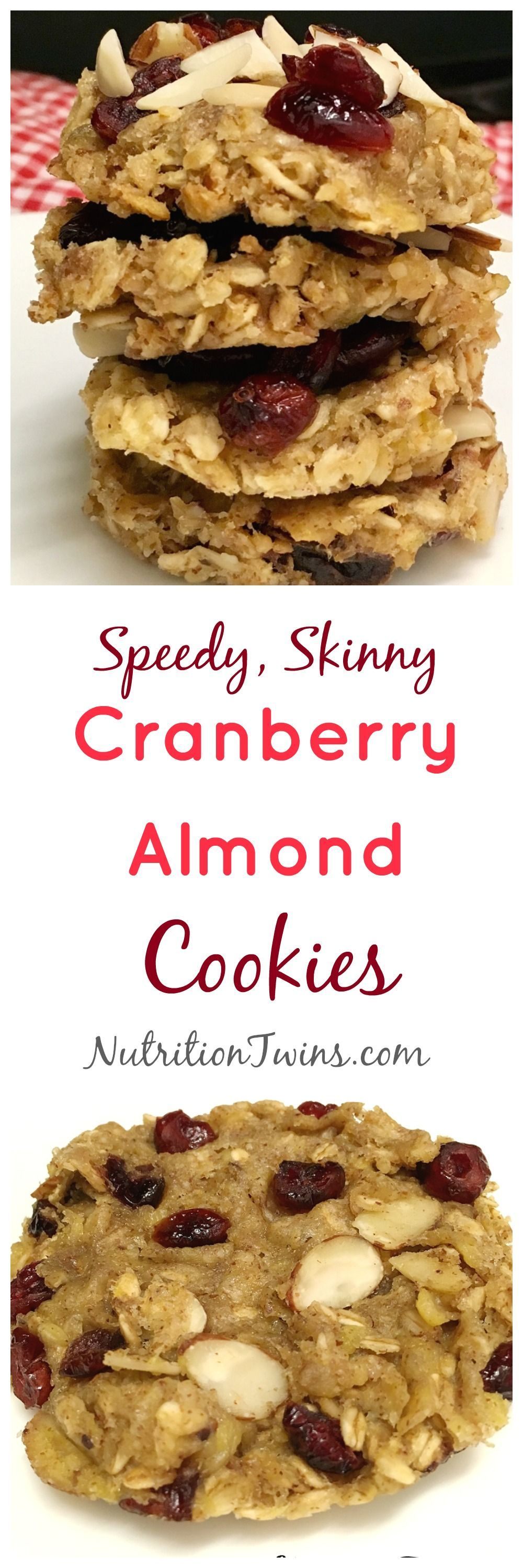 #wwwnutritiontwinscom #newsletter #nutrition #cranberry #calories #cravings #recipes #cookies #fitne...