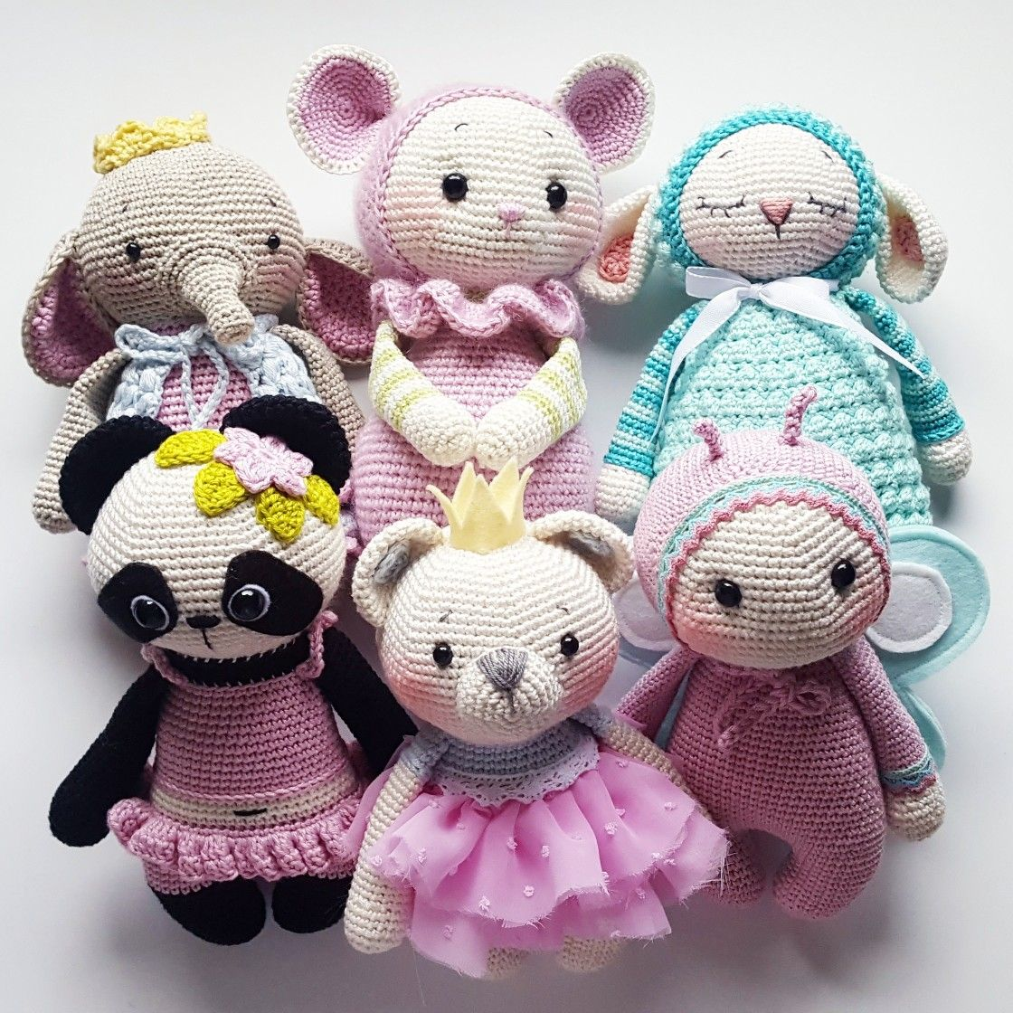 Amigurumi Crochet Pattern Amalou.Designs | crocheted animals ...