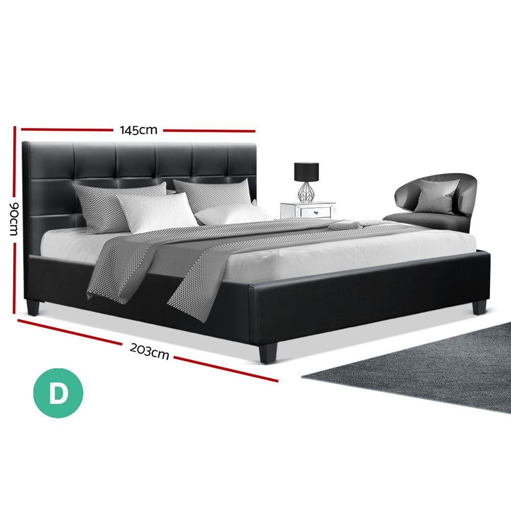Brixton Black Bed Frame Online Only Matt Blatt In 2020 Black