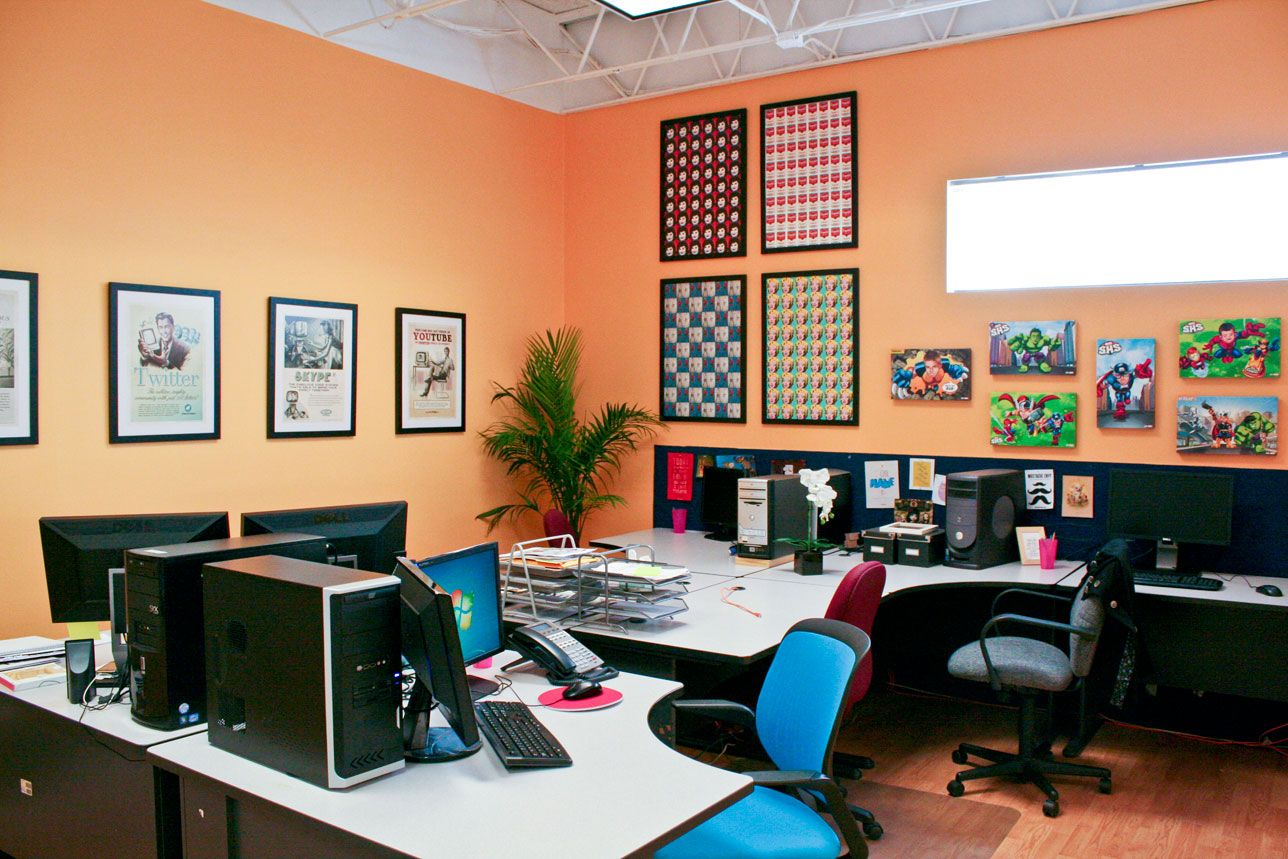 peach office paint color ideas home office colors on best home office paint colors id=39009