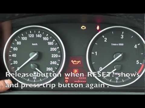 How To Reset The 2006 2011 Bmw Maintenance Light Oil Brake Service Bmw Bmw X6 Bmw X3