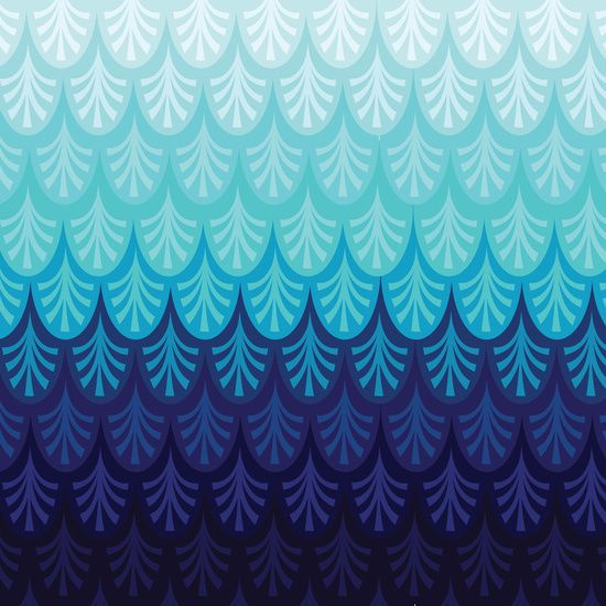Ombre Design arctic ombre! canvas print | ombre, printing and surface design