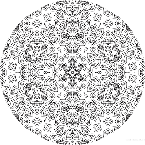 coloriage anti stress imprimer gratuit mandala. Black Bedroom Furniture Sets. Home Design Ideas