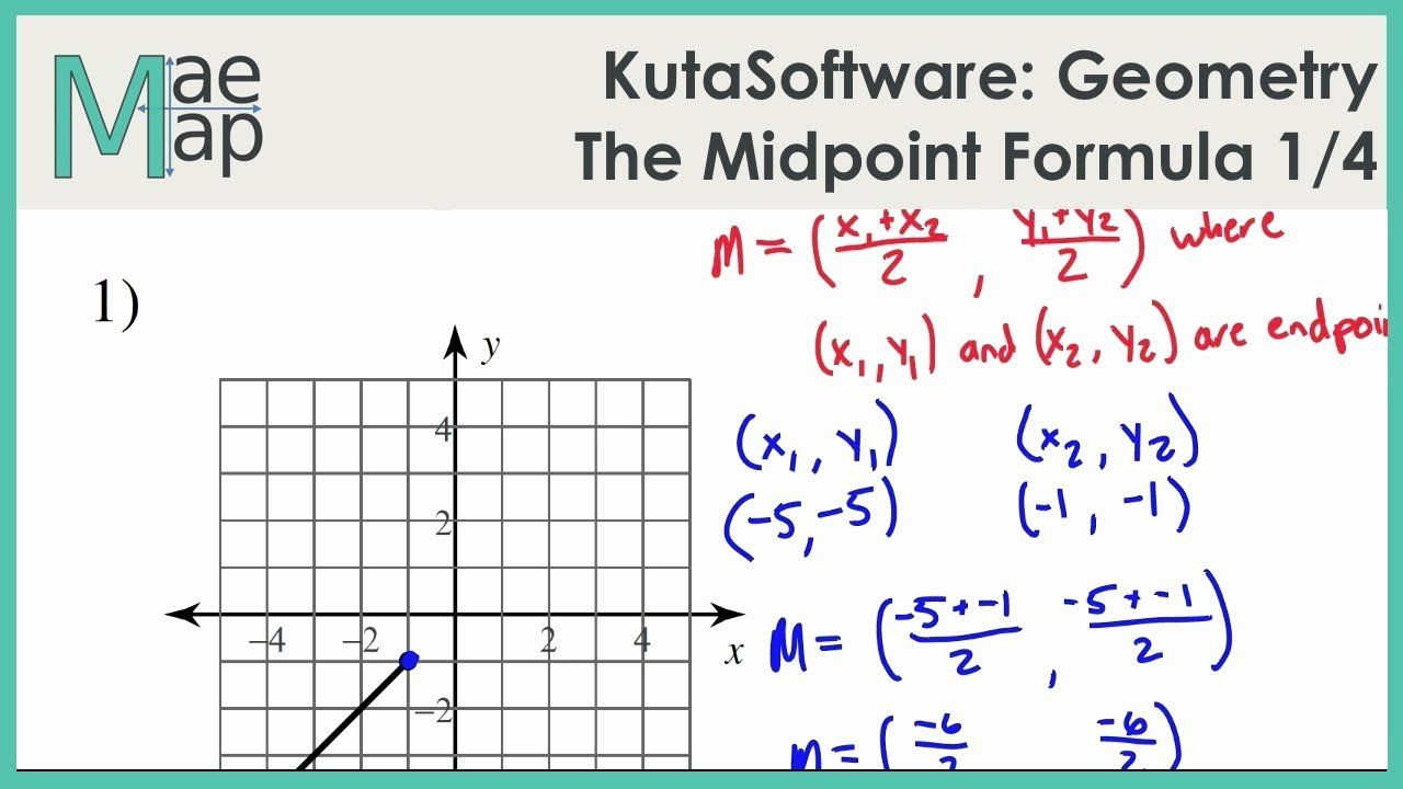 Distance and Midpoint Worksheet Answers Luxury the