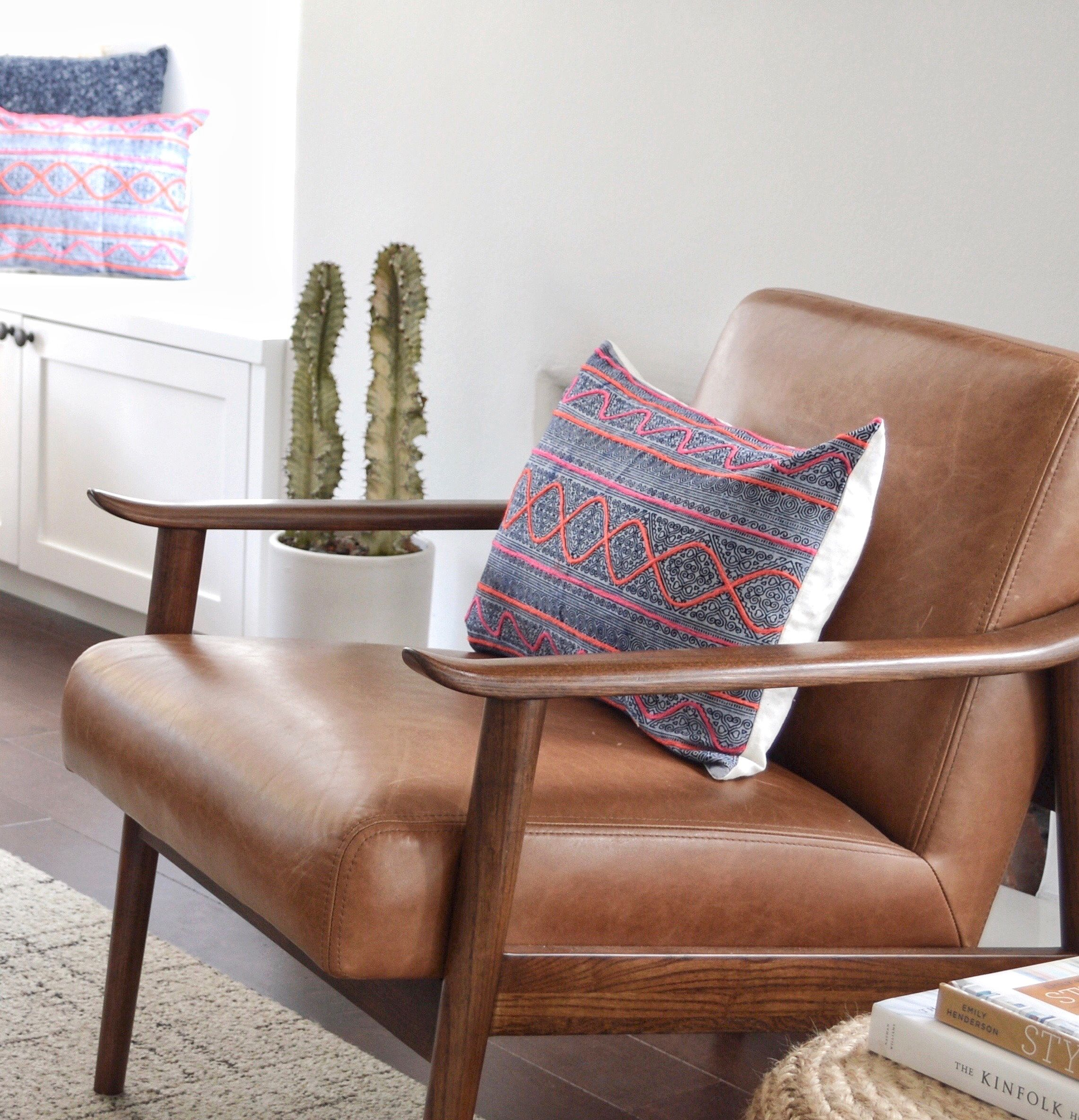 My Favorite Brown Leather Chairs Budget Pretty And Timeless