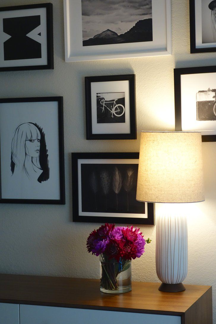 A stepbystep guide to creating your dream gallery wall step