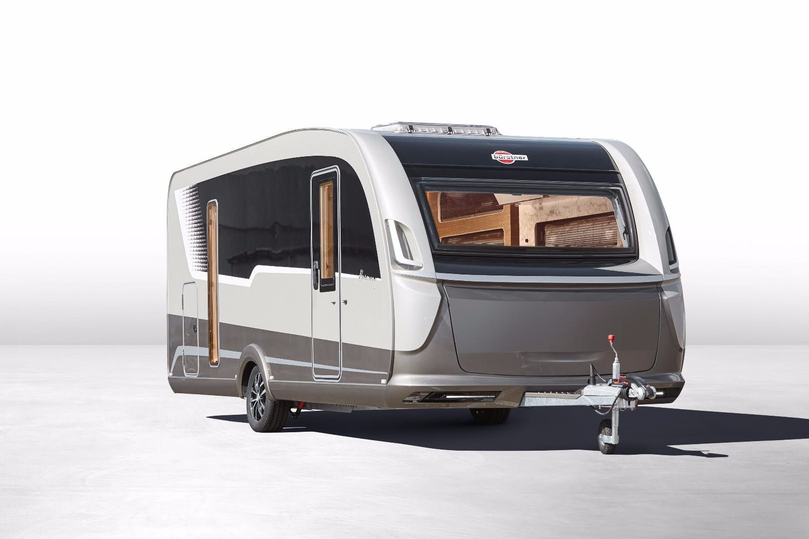 Swanky Concept Caravan Explores The Future Of Glamping Camper Trailers Rv Travel Trailers Camper