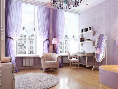 lavende bedrooms | Lavender Bedroom Drapes for Ekstra Splendor | Bedroom Trends