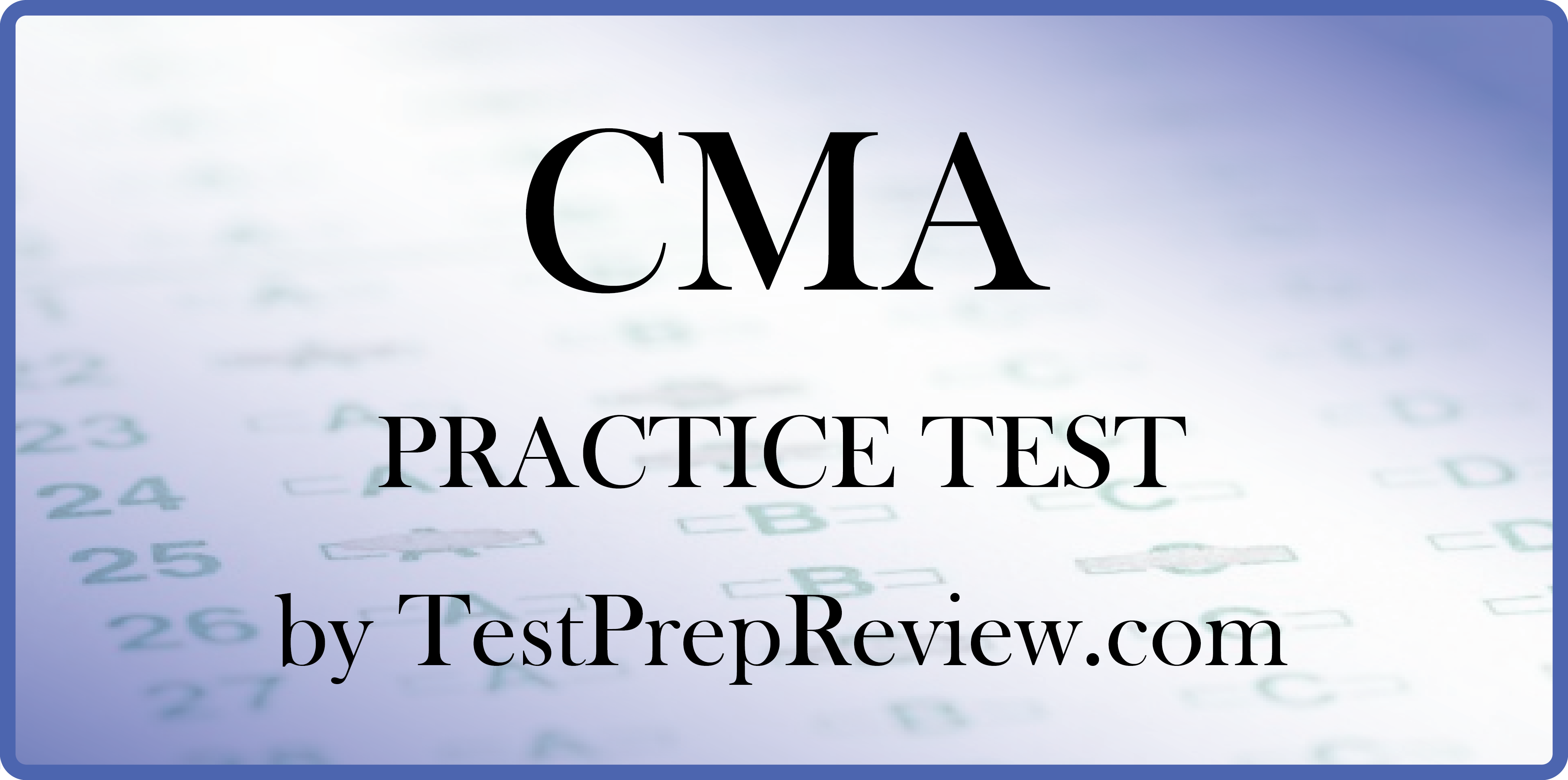 Free cma practice test questions by testprepreview be prepared 94c3f698ea203ab4f420f4bd110b9f55g 1betcityfo Gallery