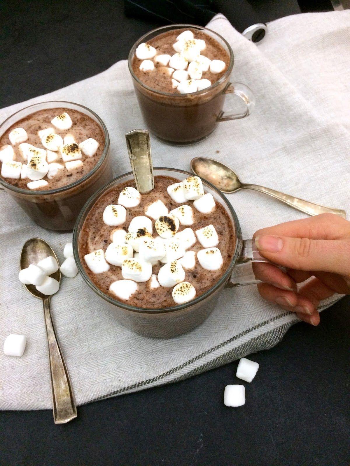 Vegane heiße Schokolade | FRÜHSTÜCK | Anna Lee EATS. | Pinterest ...