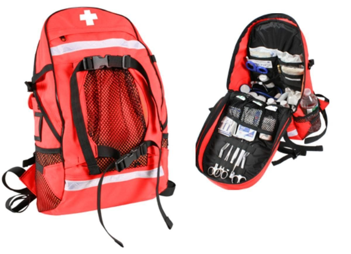 Rothco First Aid/Trauma Backpack, Red * Remarkable outdoor item available now. : Backpacking backpack