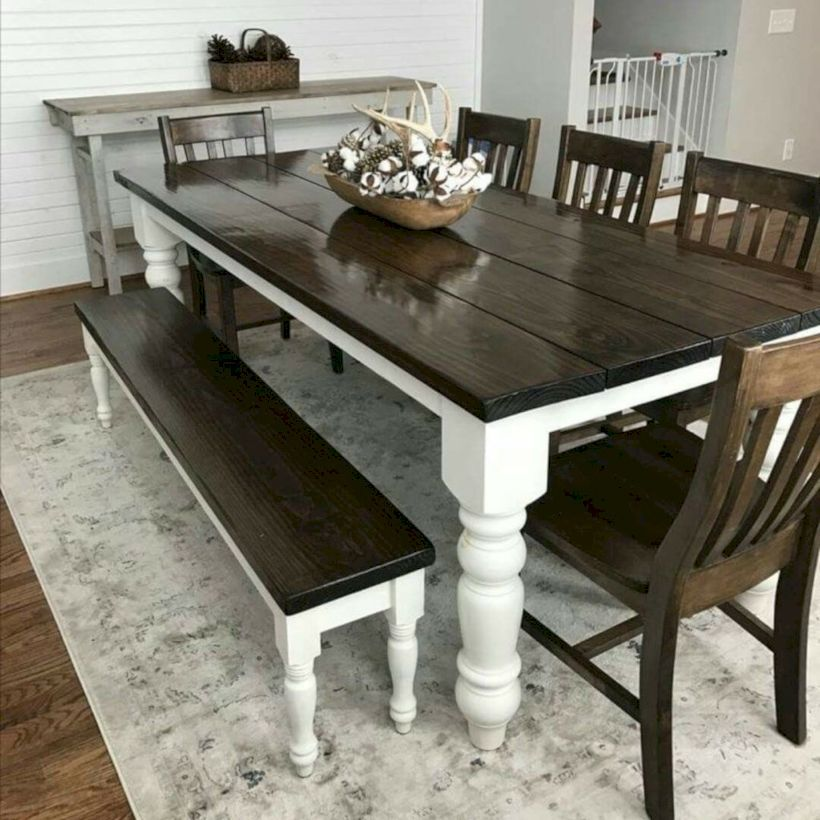 49 Farmhouse Table Design is Popular in 2019 (With images