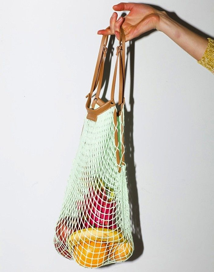 10 Woven String Bags For Groceries Gardenista
