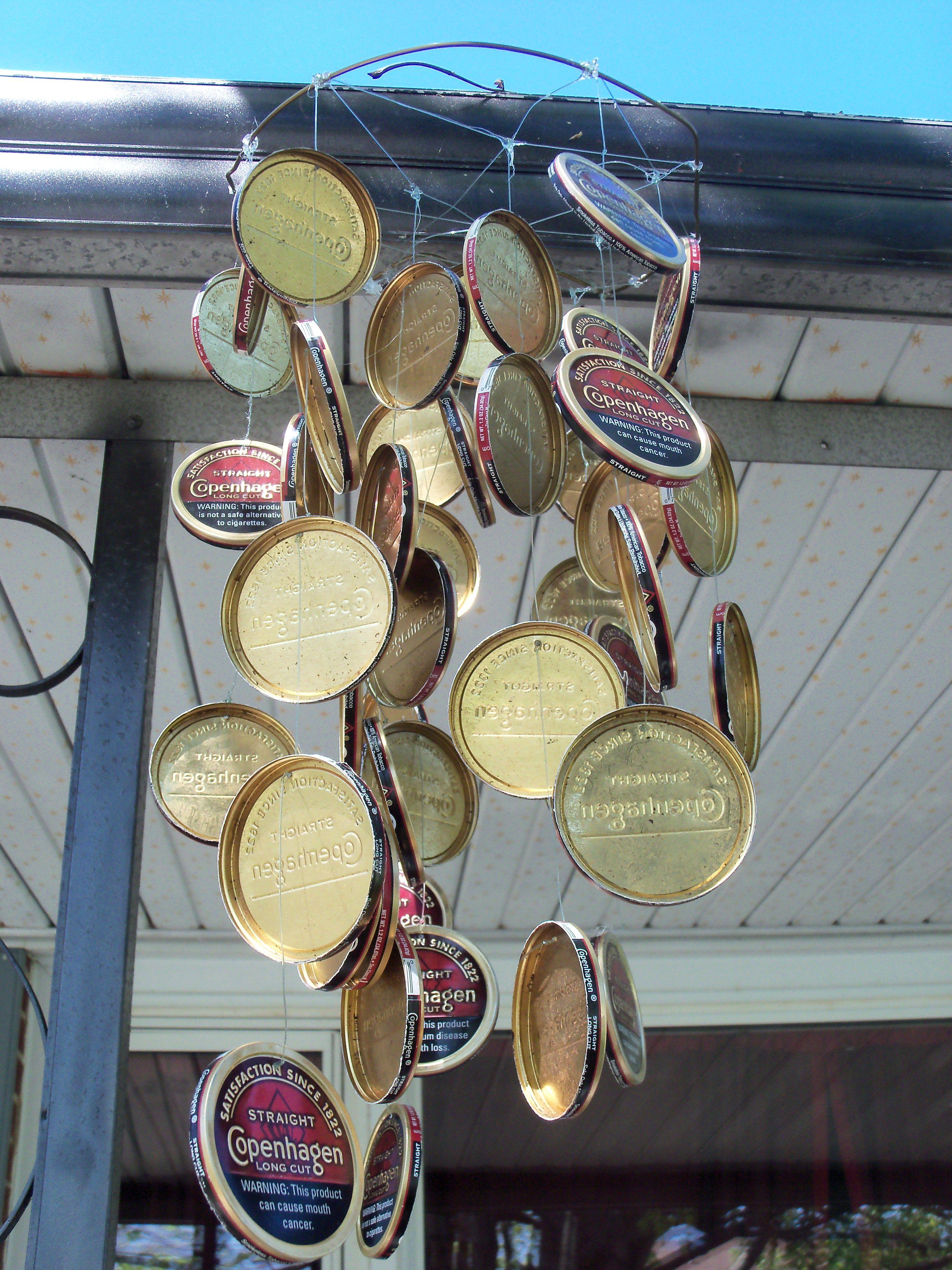 Copenhagen Lid WindChime! Gotta make one for my husband | Make it ...