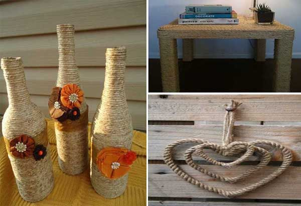 20 ideas diy sencillas y originales para decorar con for Ideas originales para el hogar