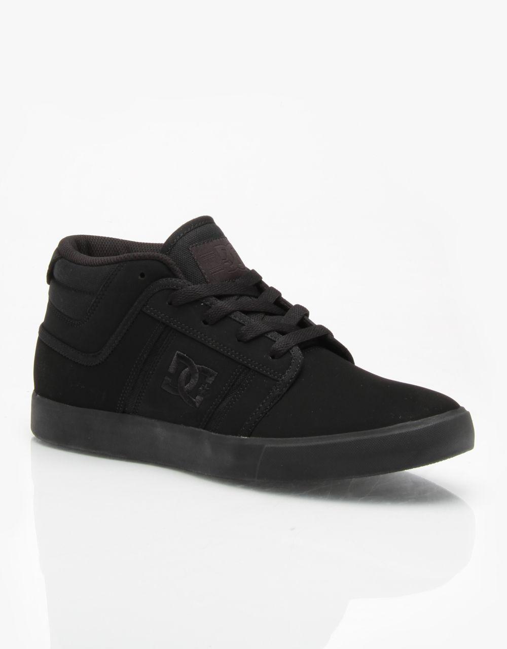 DC RD Grand Mid Skate Shoes - Black