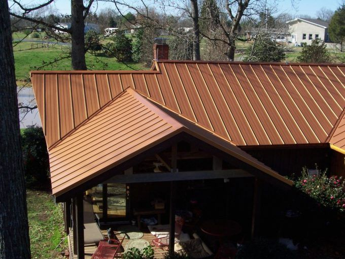 Best Copper Colored Metal Roofing Survivalgearstore In Copper 400 x 300