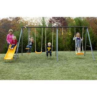 Playzone 6 Leg 7 Play Swing Set Kmart 169 99 House Play