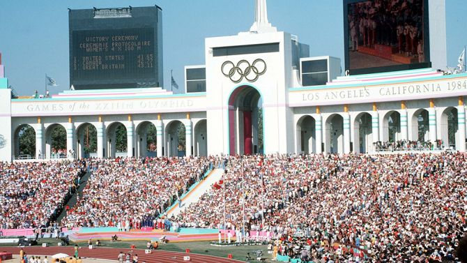 Los Angeles Reaches Deal To Host 2028 Olympic Games Olympic Games 1984 Olympics 1984 Summer Olympics