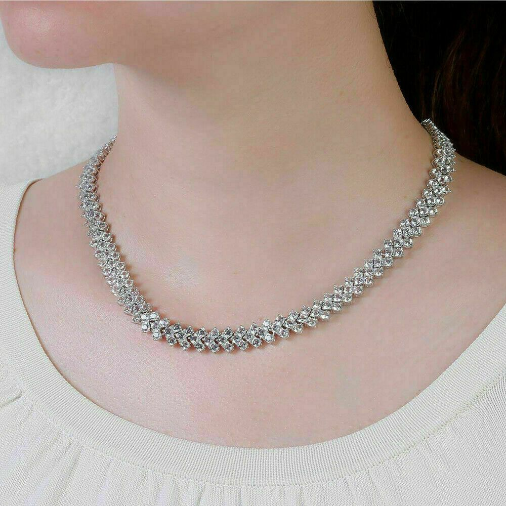 Pin On Diamond Tennis Necklace For Women S