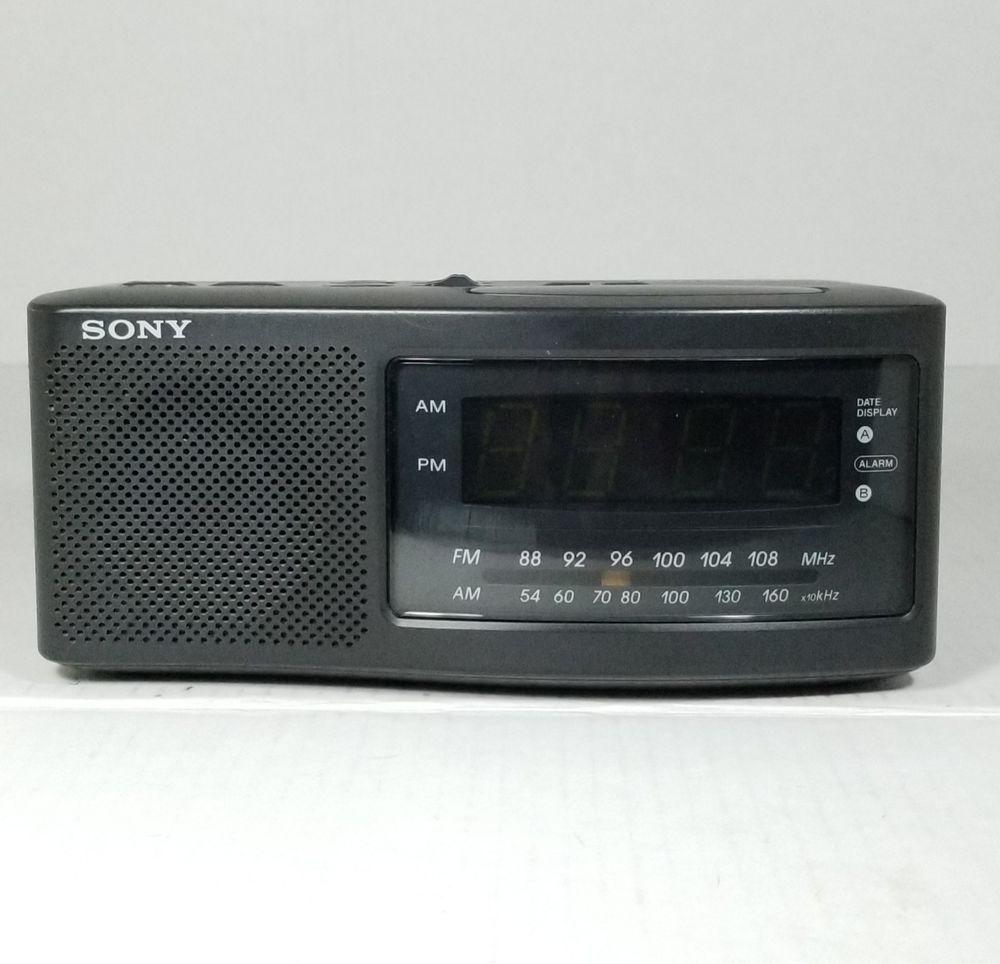 Details about SONY DREAM MACHINE Clock Radio AM/FM Digital