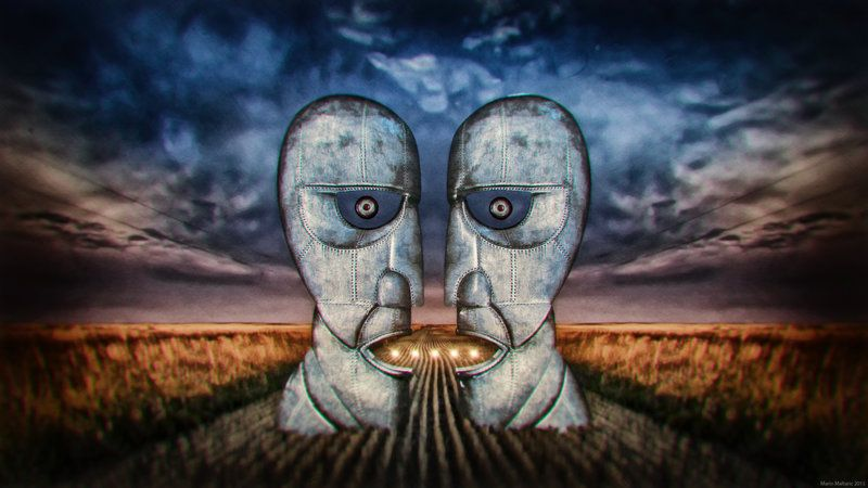 Pink Floyd Division Bell Statues By Soulmarin Pink Floyd