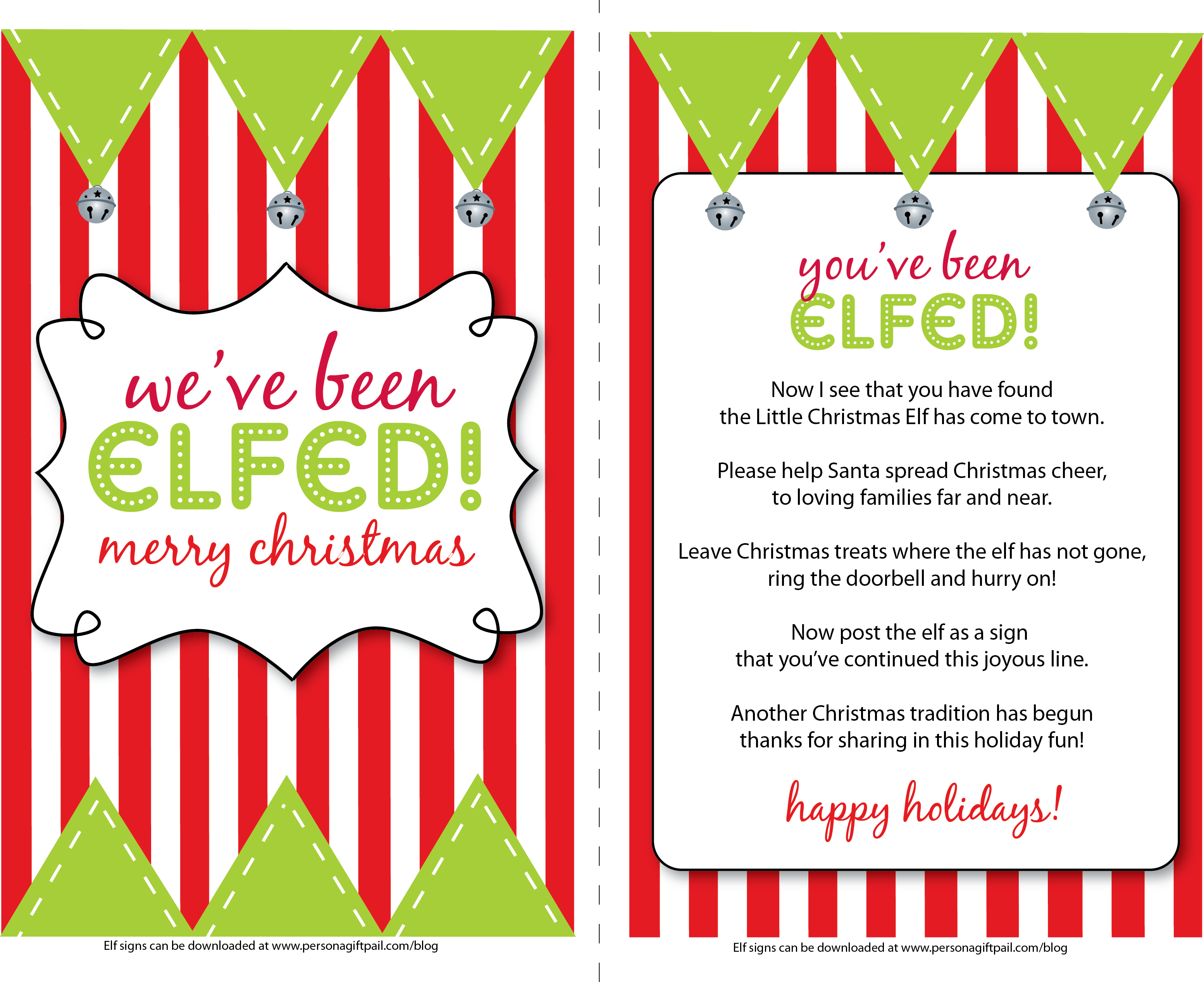 Weve Been Elfed Graphics  Free Printables And Ideas
