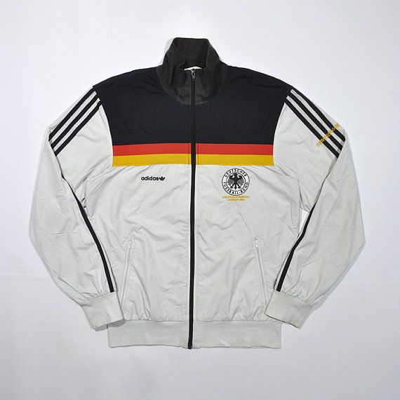 Rare Vintage 80s ADIDAS West Germany UEFA European Champions 1980 Retro  Track Jacket Adidas   Old School Streetwear   Adidas Deutschland 3d06bdaca8